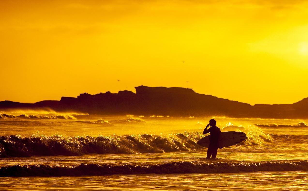 Sinn des Lebens 24 Surfer